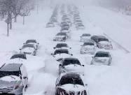 ВИДЕО. Последствия мощнейшего снегопада в Японии