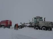 У шести областях України дороги скувала ожеледь і замело снігом