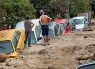 ВИДЕО. Мощные наводнения в Аргентине и Бразилии