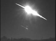 Над Англией вспыхнул метеор