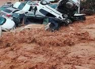 ВИДЕО. Жуткое наводнение в Марокко сносит всё на своем пути
