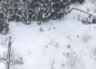 Атлантическое побережье Канады накрыло 50 см снега