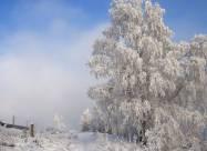 Рекордные морозы пришли в Забайкалье