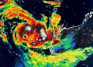 На Західну Австралію обрушився тропічний циклон Сероя