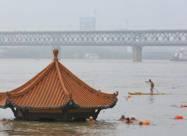 ВИДЕО. Сильные ливни вызвали наводнение в Китае