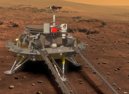 Китайський марсохід вперше сів на поверхні Червоної планети