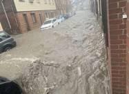 ВИДЕО. Сильные дожди вызвали наводнение во Франции