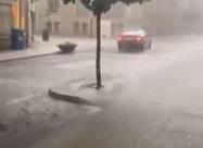 Мощный шторм обрушился на западную провинцию Испании. Видео