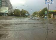 Небывалые ливни в Украине. ВИДЕО