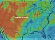 На Западе США аномальная жара