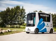 В Эстонии запустят беспилотные автобусы на водороде