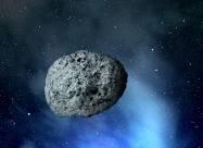 К Земле летит астероид размером 187 метров
