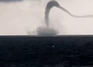 Очень странный торнадо был замечен у берегов Одессы. Видео