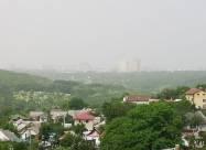 Частину України накрила піщана буря