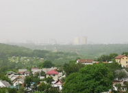 Часть Украины накрыла песчаная буря