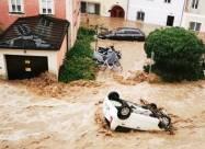 ВИДЕО. Сильнейшее наводнение в истории Австрии