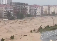 Потужна повінь у Туреччині