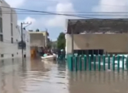 ВИДЕО. Мощное наводнение в Мексике
