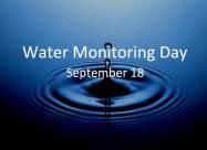 18 вересня - Всесвітній день моніторингу води