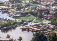 Бур'яни і стічні води забруднюють мальовниче озеро Дал в Кашмірі. ФОТО