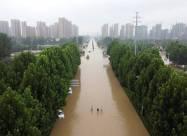 Сильні дощі викликали повені в китайській провінції Хенань