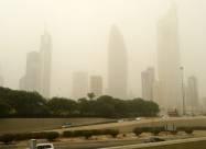 Кувейт накрыла сильная песчаная буря