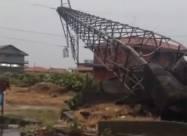 Сильный торнадо и внезапное наводнение обрушились на Сицилию. Видео