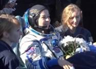 Российская команда вернулась на Землю после съемок первого фильма в космосе