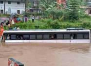 ВИДЕО. Сильное наводнение в Индии, смертоносное наводнение