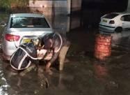 Столицу Алжира накрыло сильное наводнение