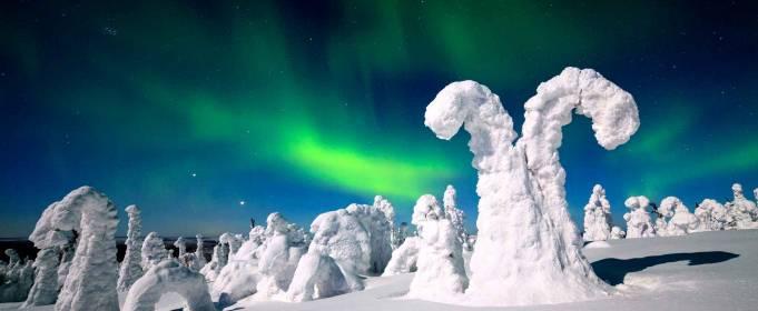 Bajkowa zima w Finlandii [FOTO]