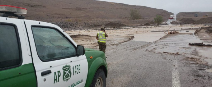 В Чили за полдня выпала трехгодичная норма осадков