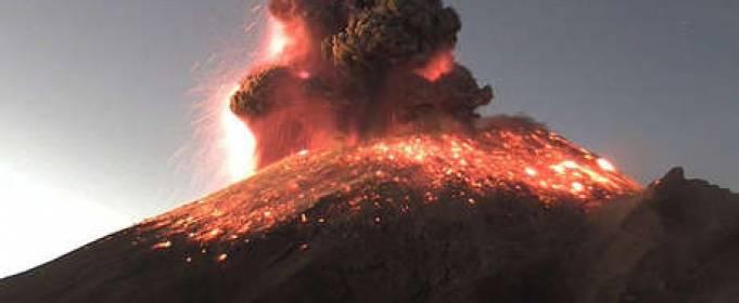 W Meksyku wybuchł wulkan [wideo]