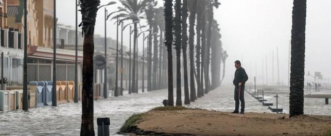 Над Испанией и Францией нависла угроза наводнений