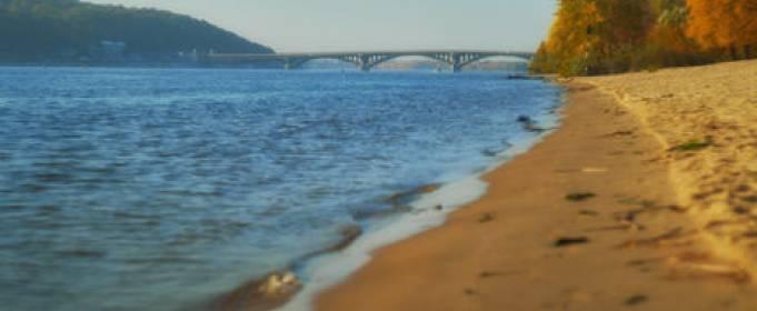 В реках Украины зафиксирован самый низкий уровень воды за 100 лет