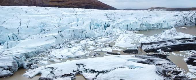 Растаявший норвежский ледник открыл дорогу викингов