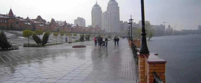 Погода в Украине на воскресенье, 26 апреля
