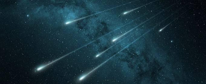 Ночью 5 и 6 мая можно будет увидеть метеорный поток Эта-Акварид