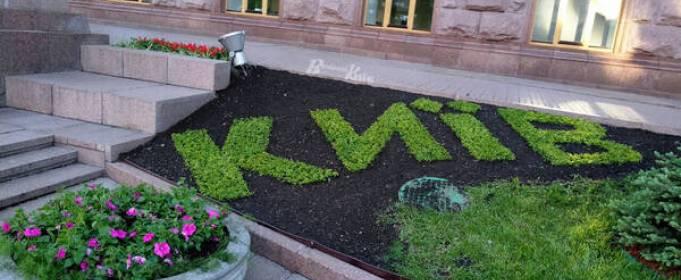 Киевские клумбы превратили в вышиванки