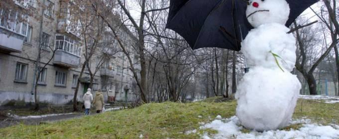 В Укргидрометцентре рассказали, почему зимой в Украине не было снега
