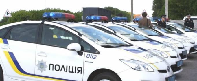 Киевские патрульные спасли ежа, перебегавшего автомагистраль