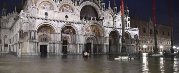 Часть Венеции затопило