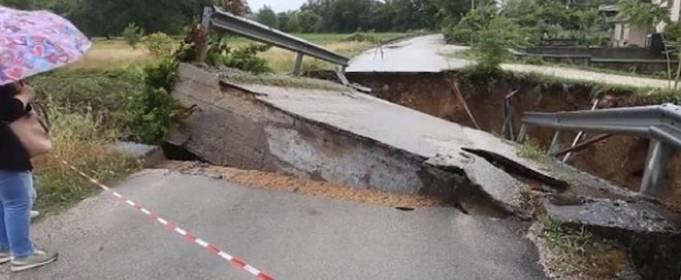 Італійський регіон затопило потужними зливами