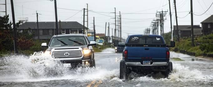 На США обрушился тропический шторм Кристобаль