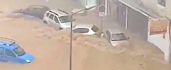 На Корсике произошло сильное наводнение