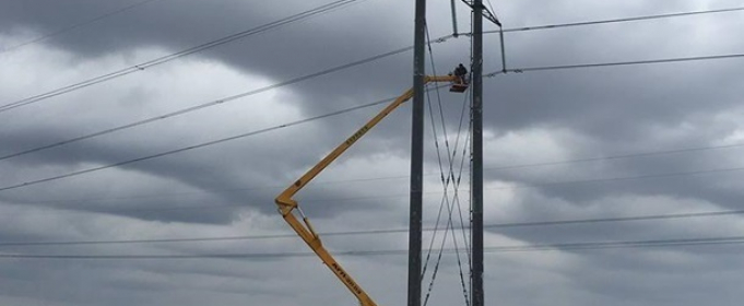Из-за непогоды в семи областях Украины без электричества осталось 80 населенных пунктов
