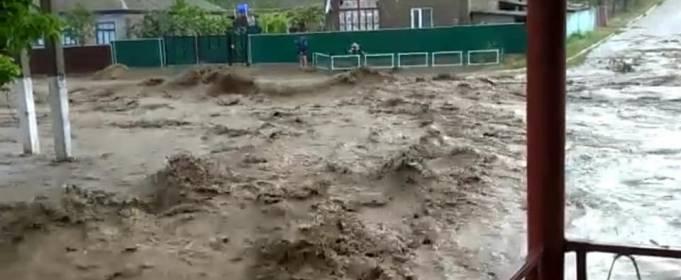 В Одесской области дожди вызвали потоп