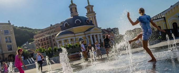 В Киеве установлен новый температурный рекорд