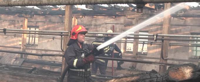У Хмельницькій області удар блискавки спричинив пожежу на фермі