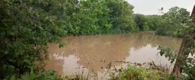 Сильный дождь затопил село в Винницкой области